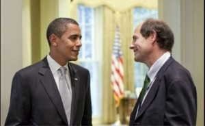 Obama and Sunstein, visible members of the QUO.