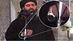 "Do you remember this pic of the ""isis"" leader wearing the expensive watch? wtf?  lol, kind of a slip up by our friend at the NSA."