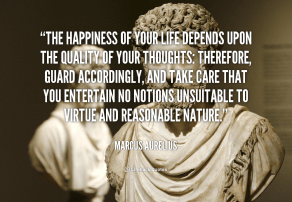 The stoics had it right 2300 years ago.