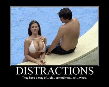 "DISTRACTIONS in the ""news"""