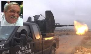 "Whoa dude, isn't that Mark's truck he sold in Texas City? How'd ""ISIS"" get a hold of it?"