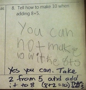 I've started using common core math to calculate what I owe on my 1040. I love it!