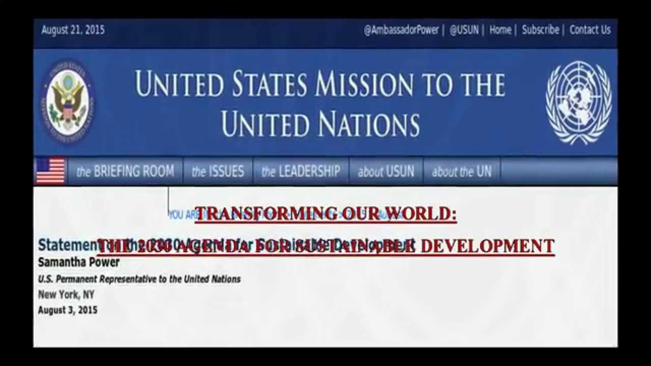 Image result for agenda 2030 is only 13 years from today