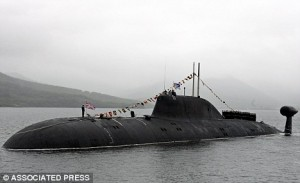 Russian attack submarine slipped past US Navy and patrolled Gulf of Mexico for weeks undetected