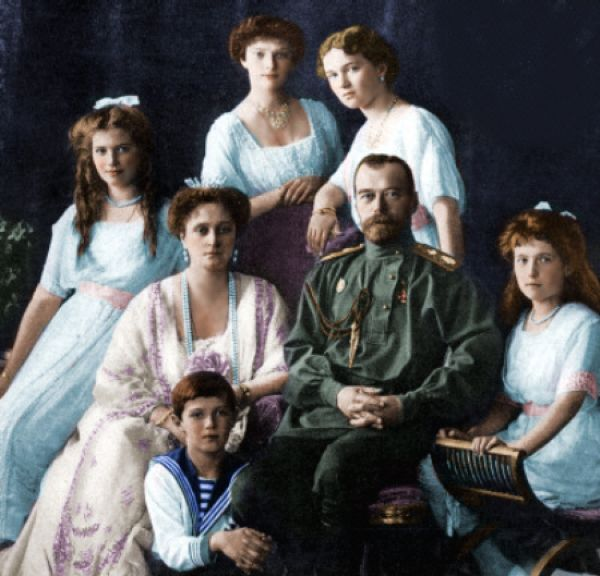 The Romanov family. click to enlarge