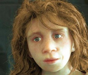Neanderthal type female
