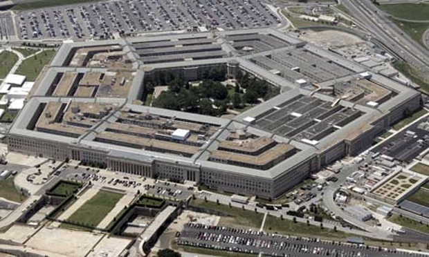 The Pentagon, the central hub of US military operations. Click to enlarge