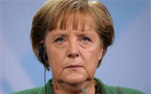 Angela Merkel: the face of a psychopath? Click to enlarge