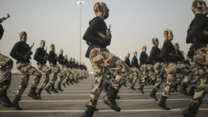Not ISIS but Saudi security forces on parade in Mecca, Saudi Arabia. Click to enlarge
