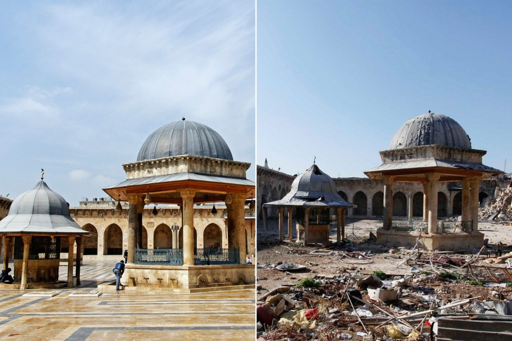 Syria destroyedmosque
