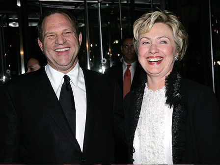 Jewish power: Harvey Weinstein with shabbos-shiksa