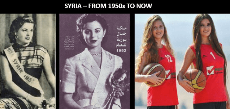 Syria from the 1950s to now