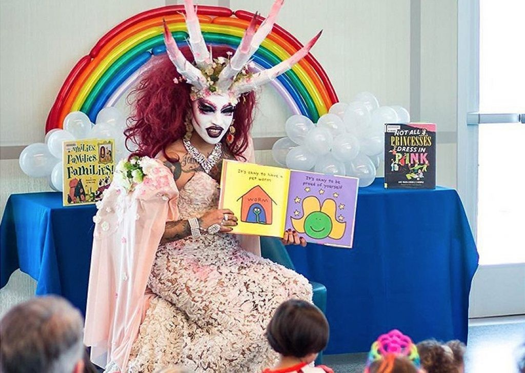 One of the new, and dare we say it rather sinister-looking role models Minnesota public library will be parading for kids this summer. Click to enlarge