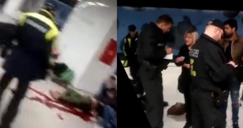 Migrant decapitates baby government tries to surpress online reports about the incident