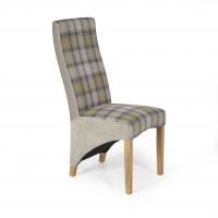 tartan dining chair covers for sale the mermaid tub shop   leather chairs fabric
