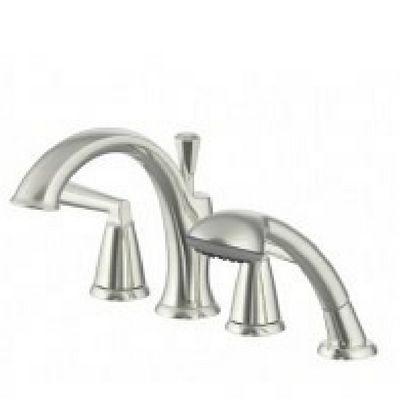 2 handle roman tub faucet hand shower bn uf65443