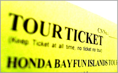 Honda Bay Ticket Pass