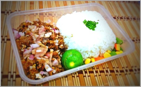 Pork and Chicken Sisig