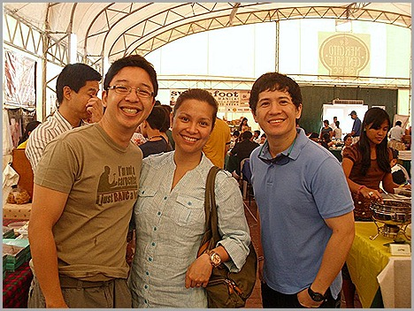 RJ Ledesma, Lea Salonga and Chuckie Dreyfus