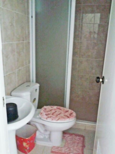 Toilet and Bath with hot and cold shower