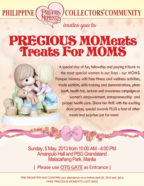 Precious MOMents Treats for Moms!