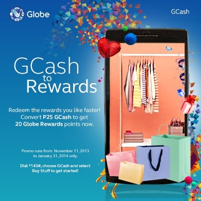 Yay! I can convert GCash to Globe Rewards now!