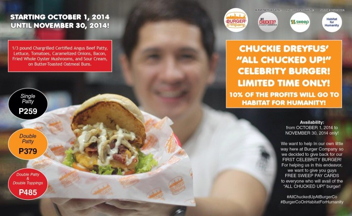 All Chucked Up - Burger Company - Habitat For Humanity Philippines