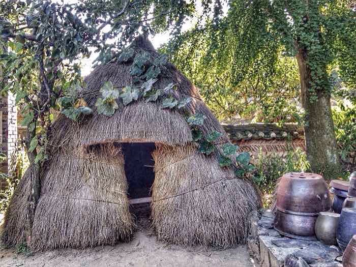 Folk Village in South Korea