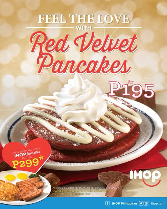 IHOP Philippines' Php25 Pancake