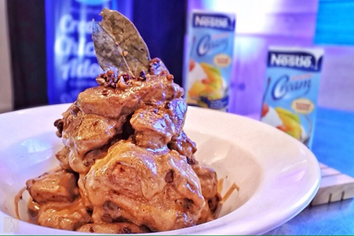 Nestle Create With Cream - Creamy Chicken Adobo - #CreateWithCream