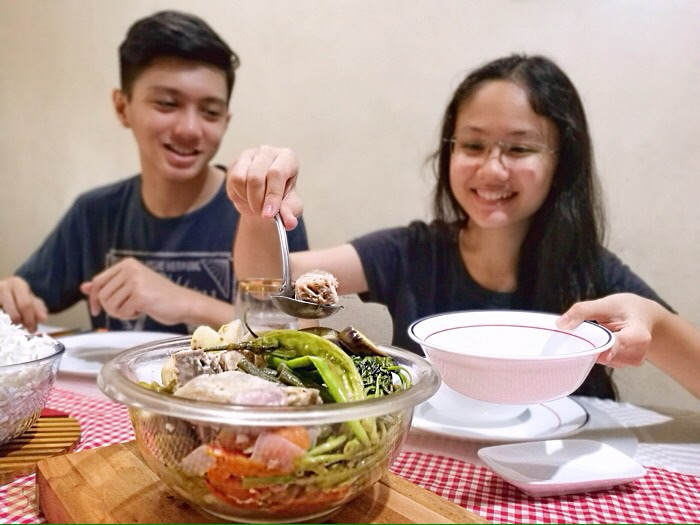 how to cook sinigang with gabi
