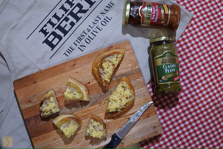 Filippo Berio - Classic Pesto - Sun Dried Tomato Pesto