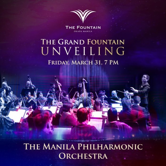 Okada Manila - The Fountain - Manila Philharmonic Orchestra