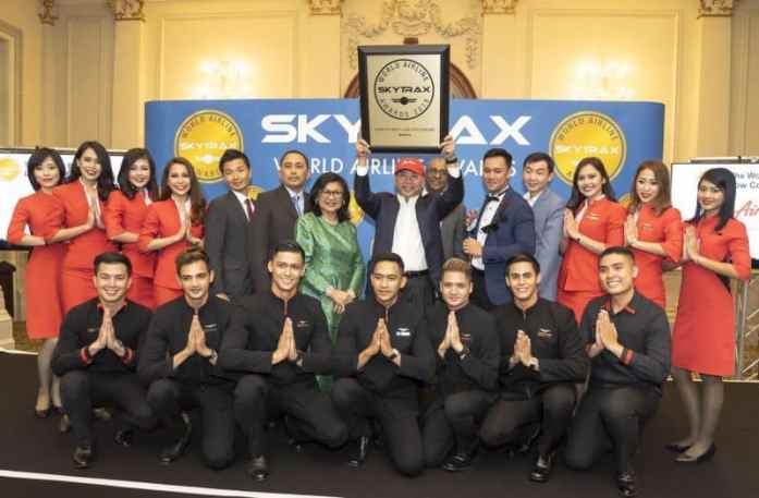 AirAsia - Skytrax World's Best Low-Cost Airline