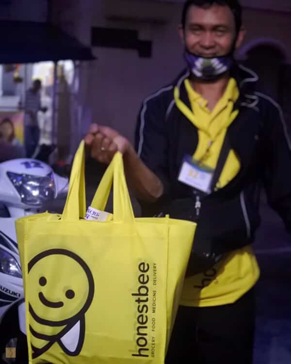 honestbee - snr membership shopping - delivery