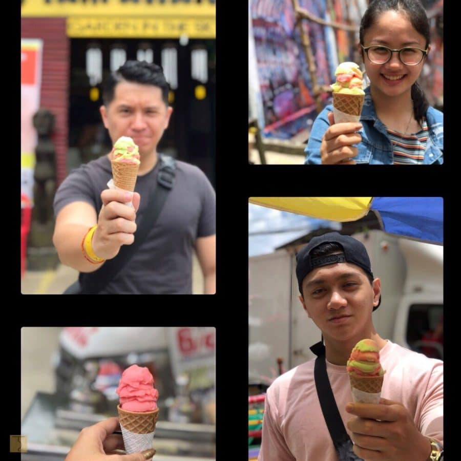 Baguio City - Strawberry Ice Cream
