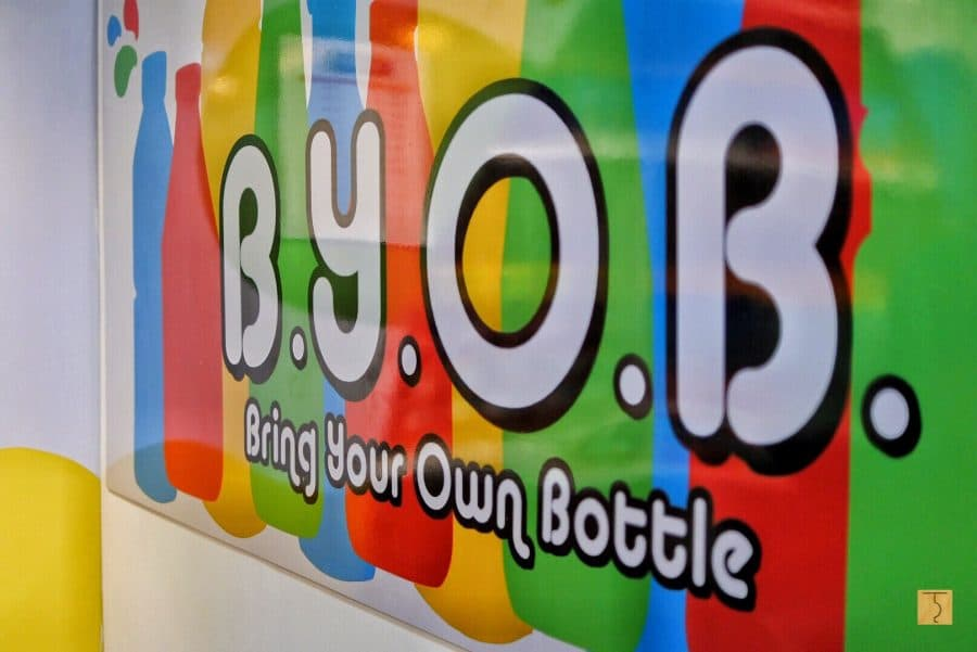 NutriAsia BYOB - Bring Your Own Bottle