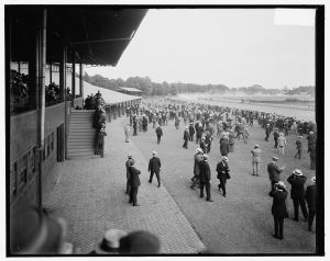 Saratoga Racetrack, early 1900s