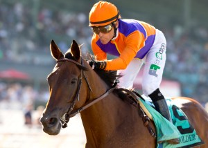 Beholder could not have been more impressive while winning the 2015 Zenyatta Stakes (gr. I) at Santa Anita - © BENOIT PHOTO