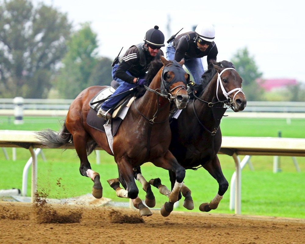 Commissioner Turns in Bullet Workout at Keeneland