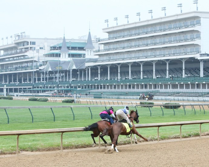 Fellowship working at Churchill Downs - Coady Photography