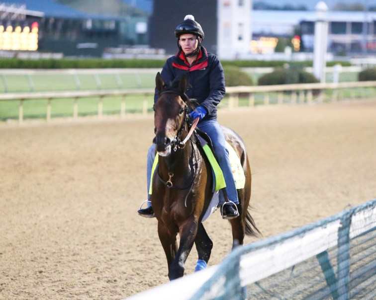 Mo Tom at Churchill Downs - Coady Photography/Churchill Downs