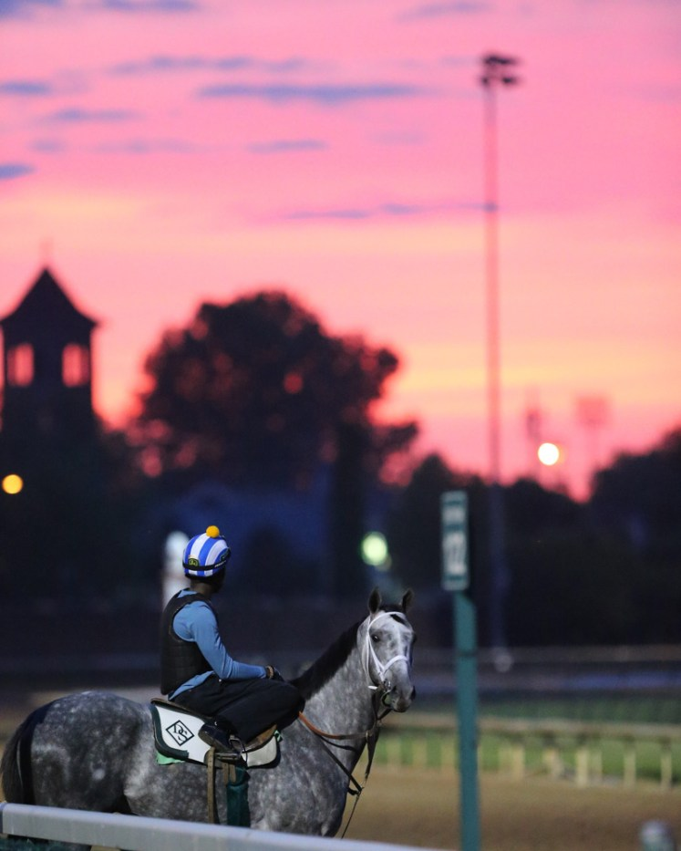 Churchill Downs at sunrise - Coady Photography