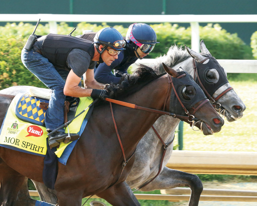 "Mor Spirit ""Really Nice"" in Final Derby Workout"