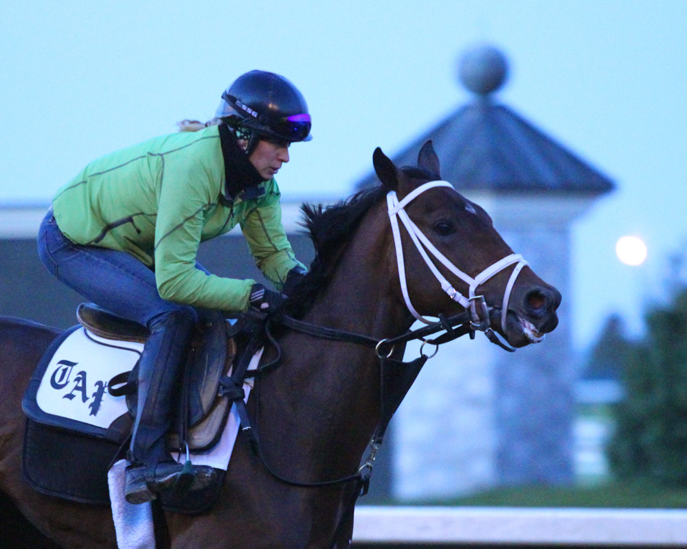 Photos and Videos of Kentucky Oaks Contenders