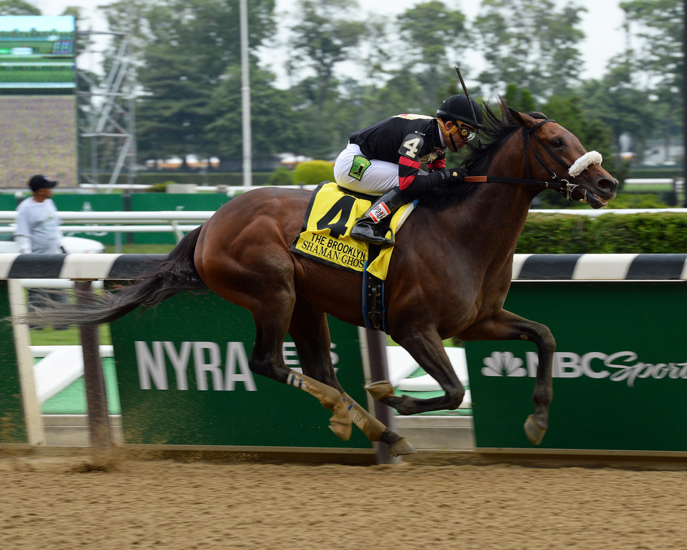 Shaman Ghost Keeps On Winning in Pimlico Special