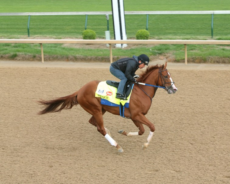 Hence galloping at Churchill Downs - Coady Photography