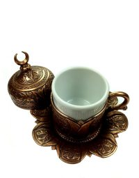 Turkish Coffee Cup Set of 2 with Delight Bowl | The ...