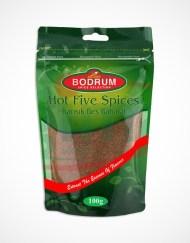 Bodrum Hot Five Spices, Karisik Bes Baharat