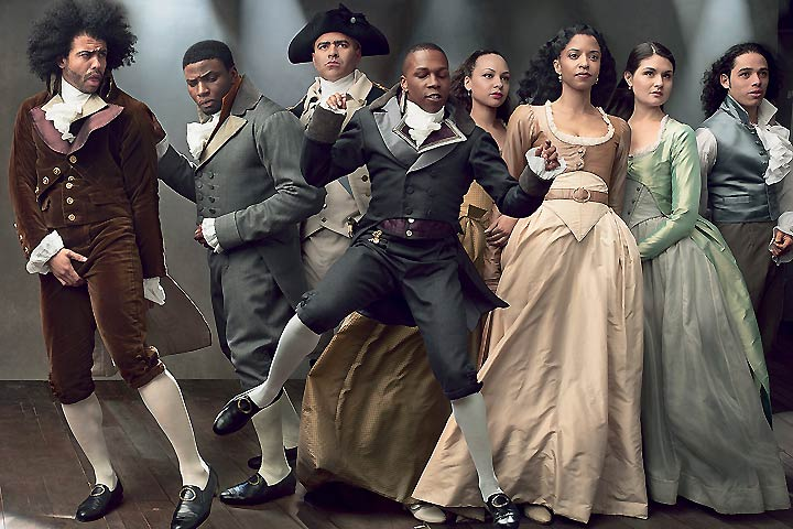 Men, Women, Cast of Hamilton (Photographed by Annie Leibovitz, for 'Vogue', July 2015)